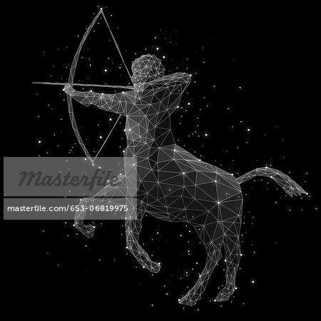 The constellation of Sagittarius