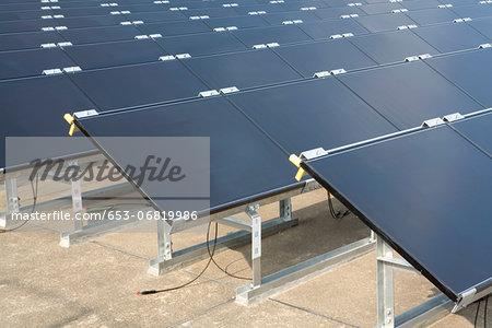 Thin film solar modules