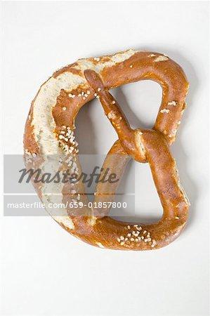 Salted soft pretzel