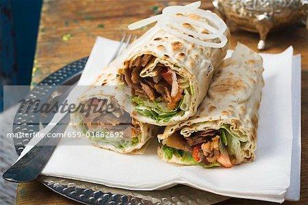 Döner wraps from Turkey