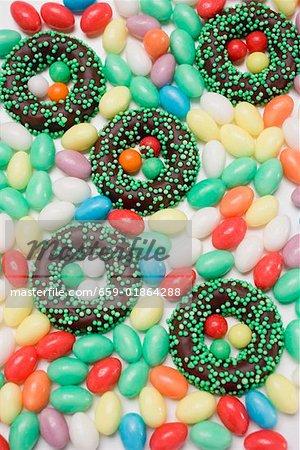 Easter sweets (full-frame)