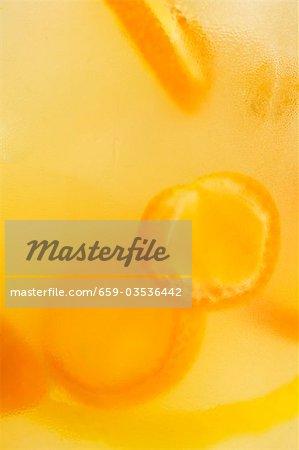 Kumquat Garnish in Cocktail