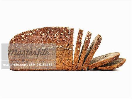 Wholemeal bread, sliced
