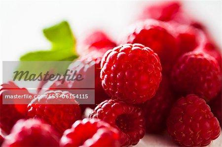 Raspberries (close-up)