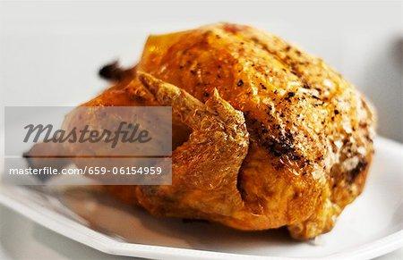 A grilled chicken