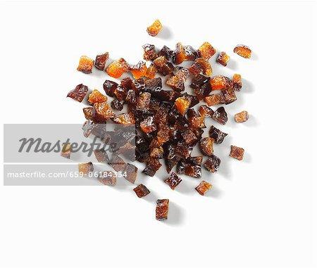 Dried plum pieces
