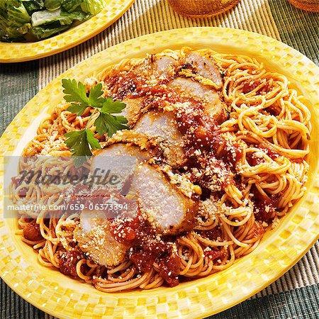 Chicken Parmesan Plate