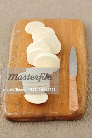 Mozzarella, sliced