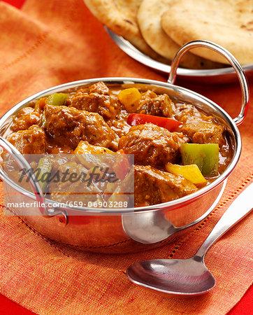 Dopiaza (Chicken curry, India)