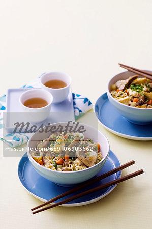 Chicken chow mein (China)