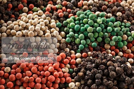 Mixed peppercorns (full-frame)