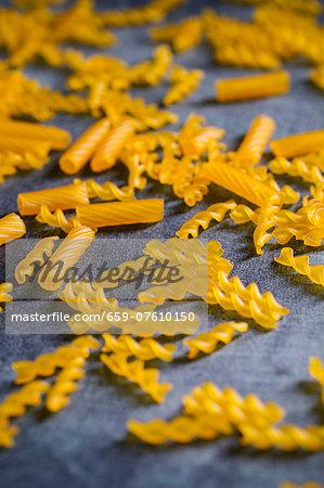 Organic spirelli and rigatoni made from corn flour (gluten free)