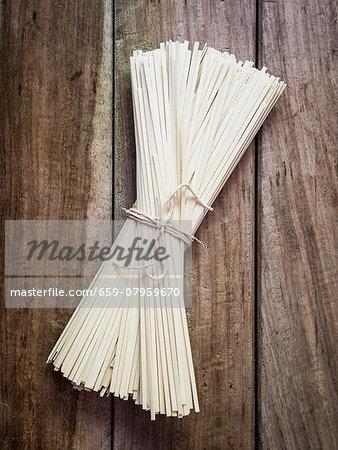 A bundle of soya noodles