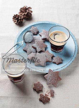 Chocolate stars