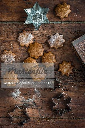 Lebkuchen gluten free vegan christmas cookies