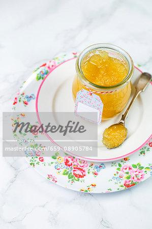 Pineapple & vanilla jam