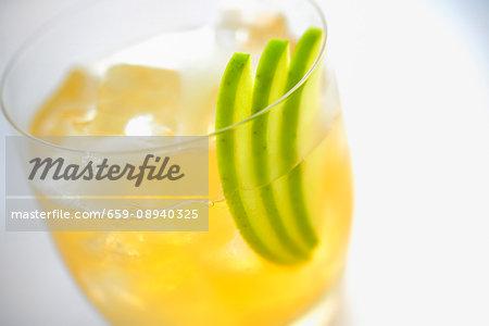 Pirinja cocktail (close-up)