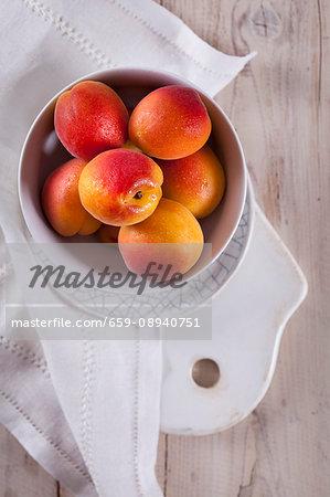 Velvety apricots