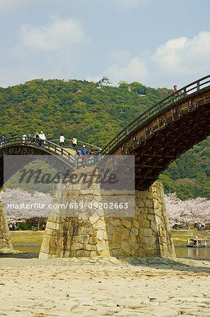 Kintai Bridge, Yamaguchi Prefecture, Japan