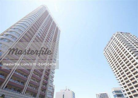 High-rise condominiums