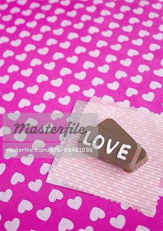 "Chocolates with ""Love"""