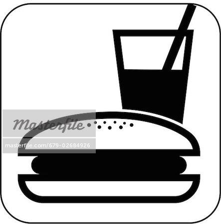 Fast Food Symbol Computer Artwork Stock Photo Masterfile