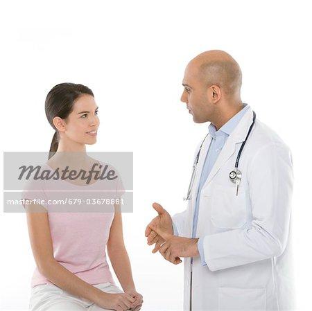 Medical consultation.