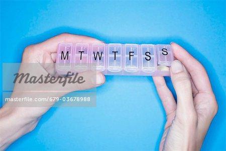 Pill box.