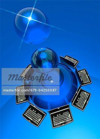 World wide web, conceptual artwork