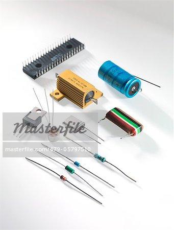 Electronic components - Stock Photo - Masterfile - Premium