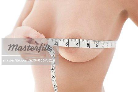 Bust measurement.