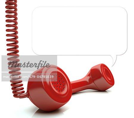 Telephone call.