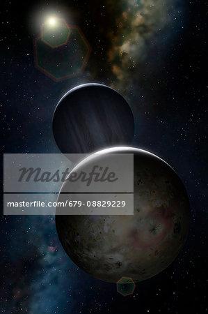 Artwork of Jovian Moon Io