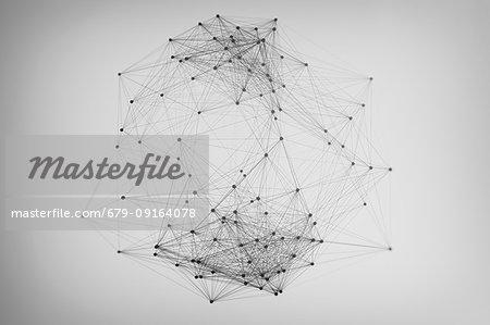 Network, illustration.