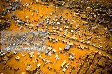An Aerial View of an Informal Settlement