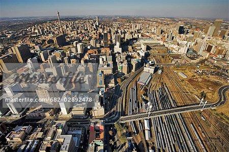 Aerial View of Nelson Mandela Bridge
