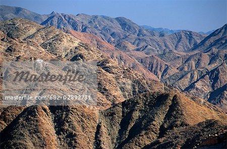 Barren Mountainous Landscape