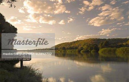 View Point Over Kunene River