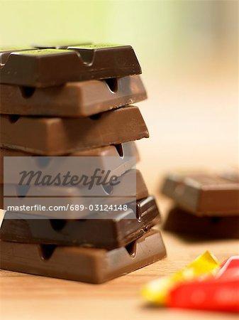 Chocolate bar 'Ritter Sport'