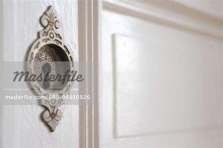 Keyhole at a door