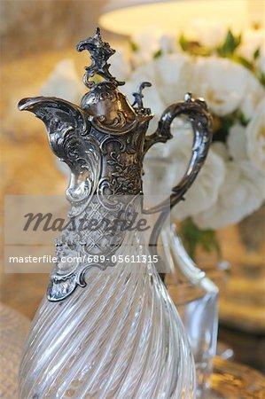 Ornate carafe