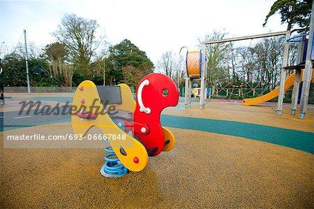 Playground rocking horse