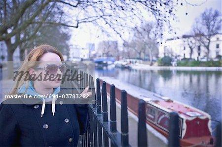 Portrait of a lady in Paddington