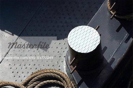 Boat deck, close-up