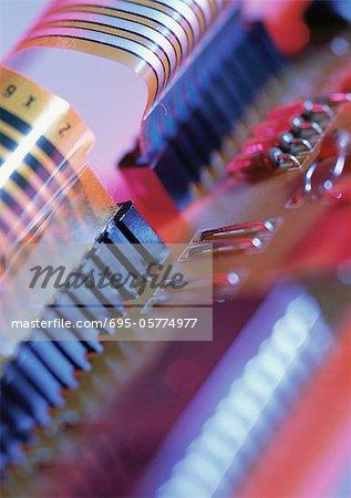 Circuits, close-up