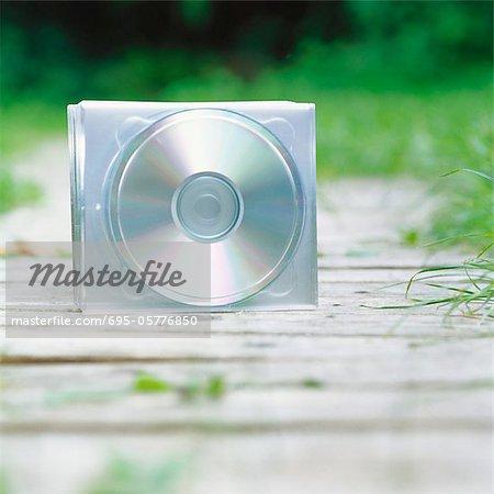 CDs on path
