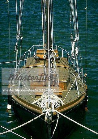 Sailboat, close-up