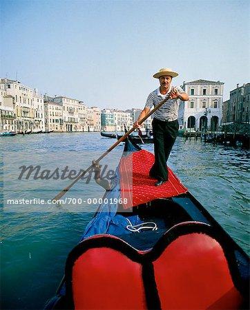 Gondolier Venice, Italy