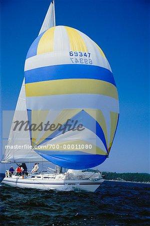 Sailing Victoria, British Columbia Canada