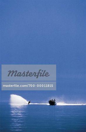 Water-Skiing British Columbia, Canada